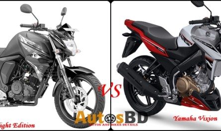 Comparison Yamaha FZS Dark Night Edition Vs Yamaha Vixion