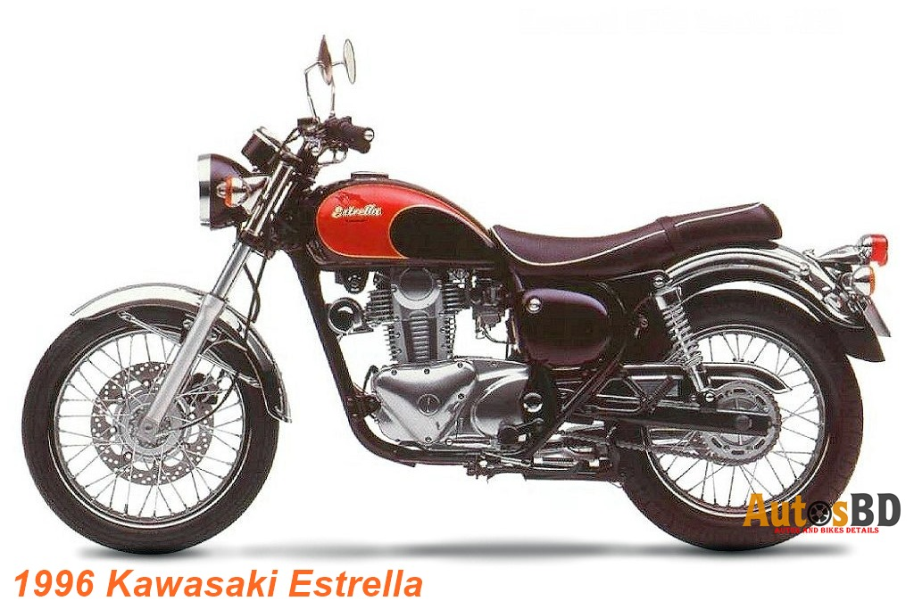 Kawasaki Estrella 175 Motorcycle Specification