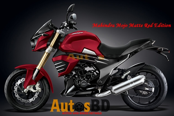Mahindra Mojo Matte Red Edition Specification