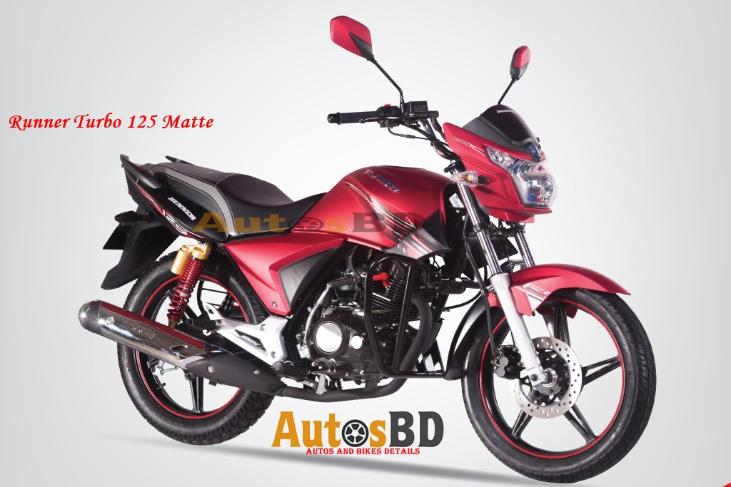 Runner Turbo 125 Matte Specification