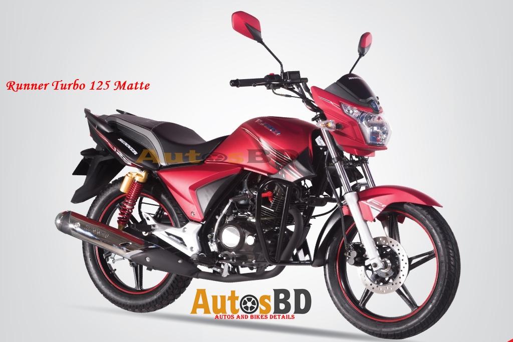 Runner Turbo 125 Matte Specification