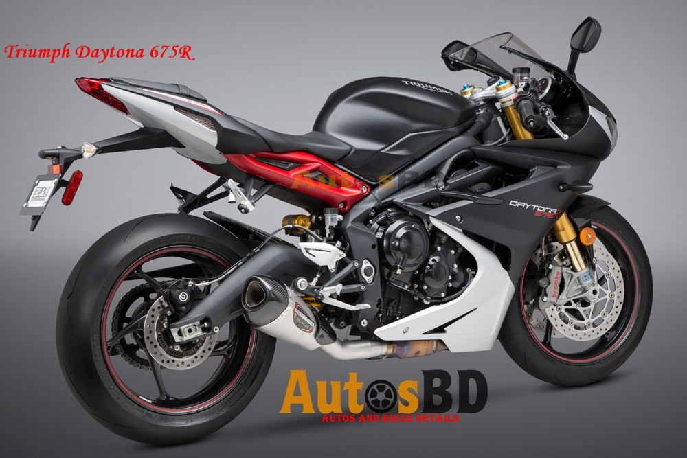 Triumph Daytona 675R Price in India