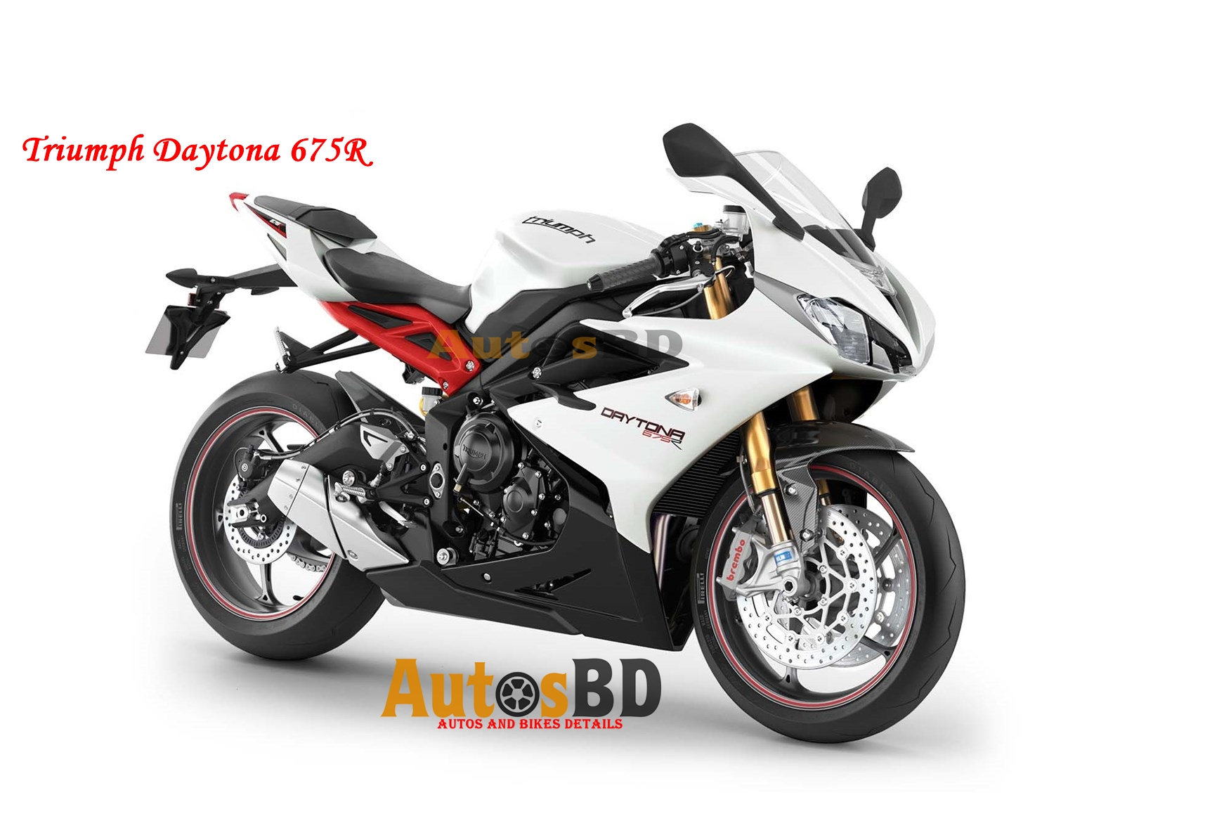 Triumph Daytona 675R Specification