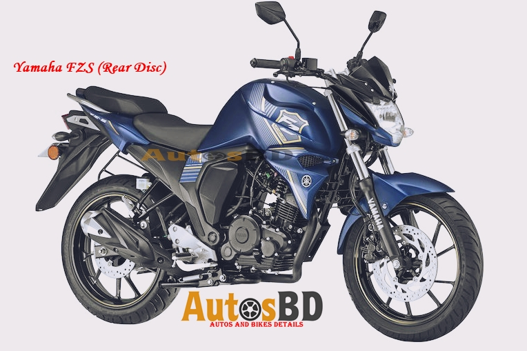 Yamaha FZS (Rear Disc) Motorcycle Price in Bangladesh