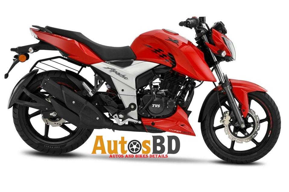 TVS Apache RTR 160 Fi 4V Motorcycle Specification