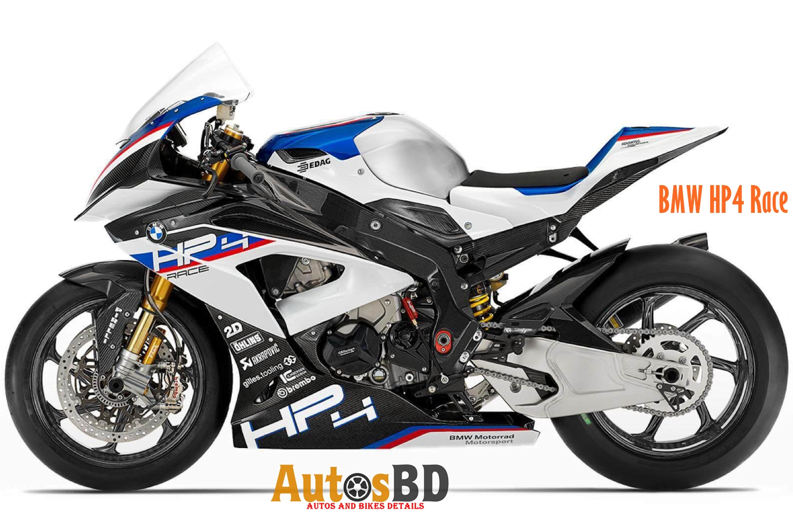 BMW HP4 Race Price in India