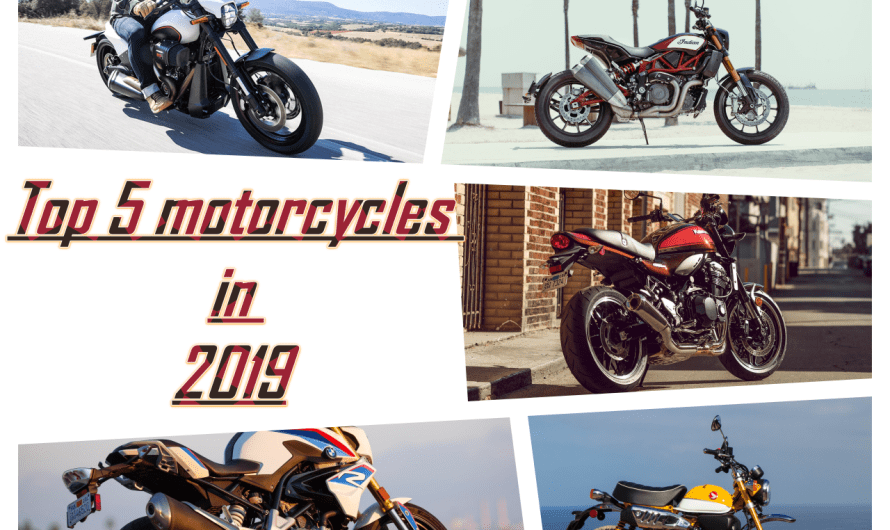 Top 5 motorcycle in 2019
