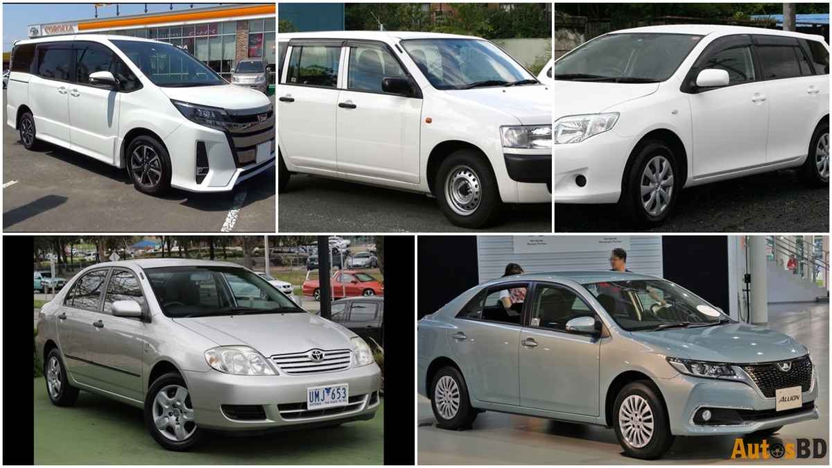 top 5 cars in bangladesh
