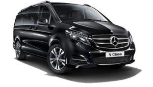 Mercedes V lujo en alquiler