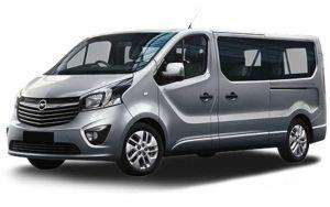 Opel Vivaro van 9 seats