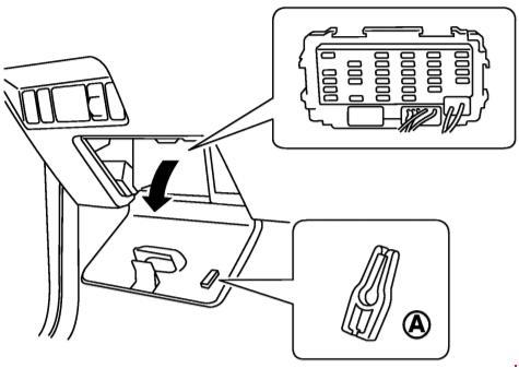 Предохранители и реле Nissan X-Trail (T30, Е31, Е32 с 2001