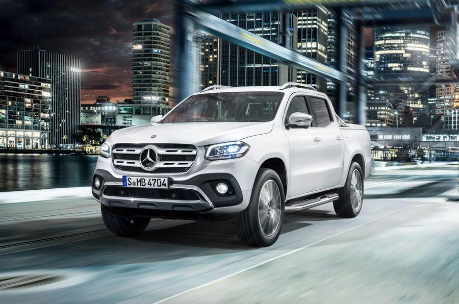 C'è anche Mercedes, il pick-up: nuova Classe X