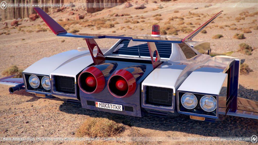 Daitarn 3 Mach patrol