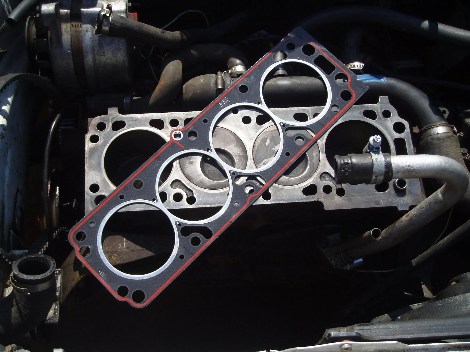 hight resolution of the head gasket serves an important purpose by ensuring no fluids enter or leave the engine and extreme stress or just normal wear and tear can cause it to