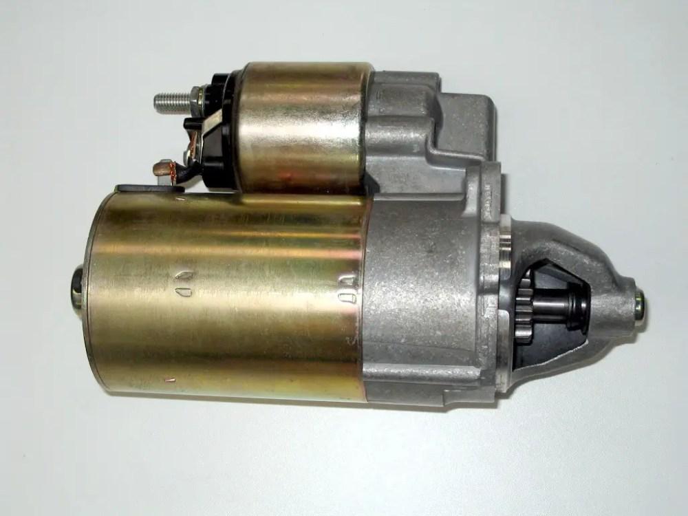 medium resolution of automobile starter