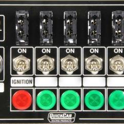Quickcar Switch Panel Wiring Diagram 1991 Nissan 240sx Kontaktpanel Ignition Control Panels