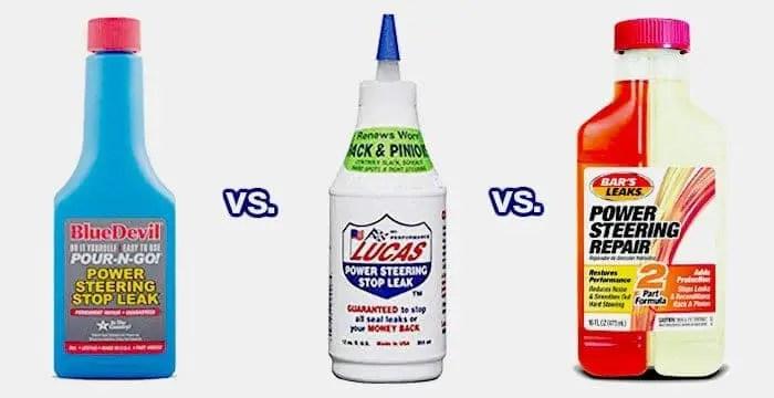 BlueDevil vs Lucas vs Bar's power Steering Stop Leak