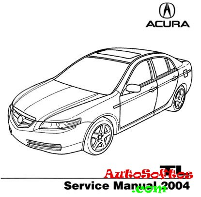 Honda / Acura TL 2004 Service Manual 2004, PDF Скачать