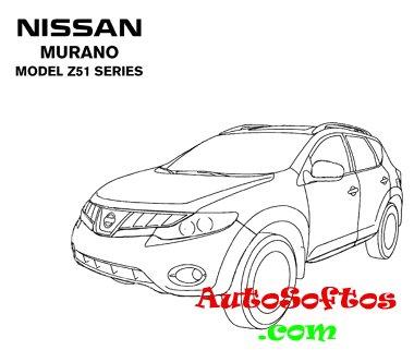 Nissan Murano Z50 Z51 2003-2009 Repair Manual Скачать