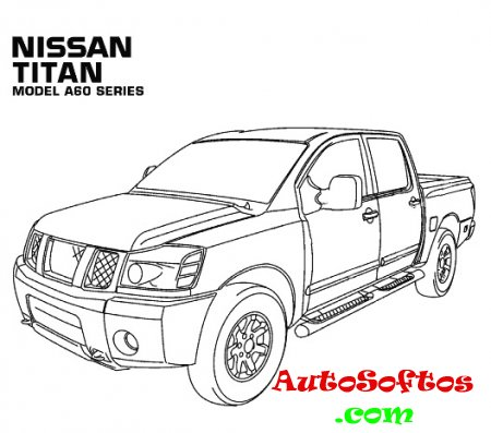 Nissan Titan A60 Repair Manual 2004-2011 Скачать