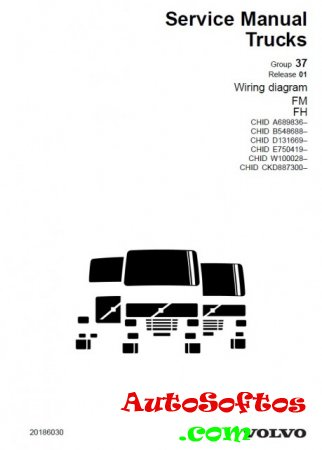 VOLVO Truck and Bus Wiring Diagrams (Электрические схемы