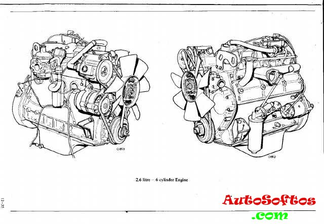 Repair Manual Land Rover V6 engine 2,6 litre » AutoSoftos