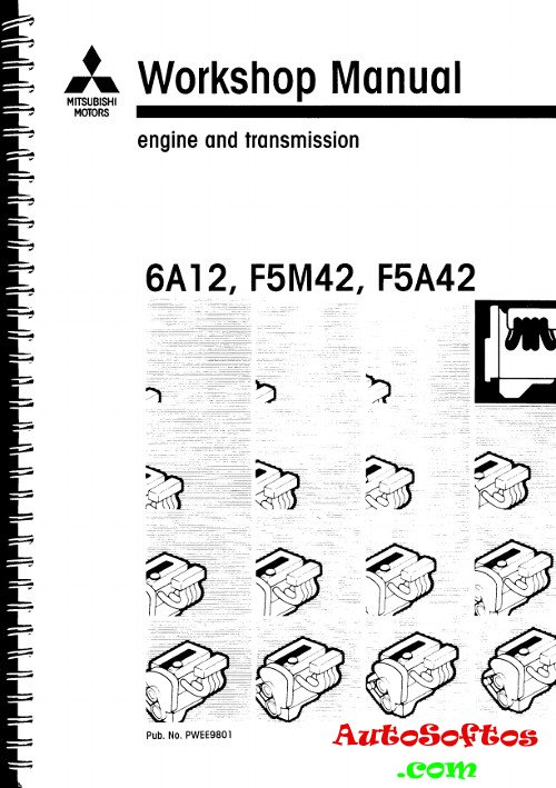 Workshop Manual Mitsubishi 6A12, F5M42, F5A42 » AutoSoftos