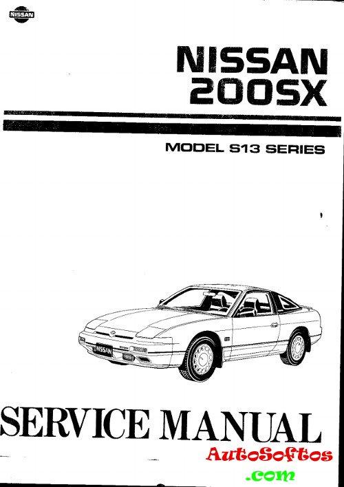Service Manual Nissan 200SX 1989 г. » AutoSoftos.com