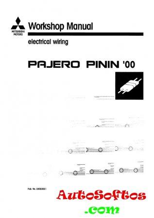 Electrical Wiring Mitsubishi Pajero Pinin 2000-2003 г