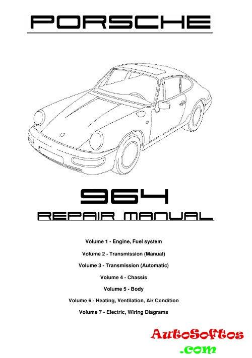 Workshop Manual Porsche 911 (964) » AutoSoftos.com
