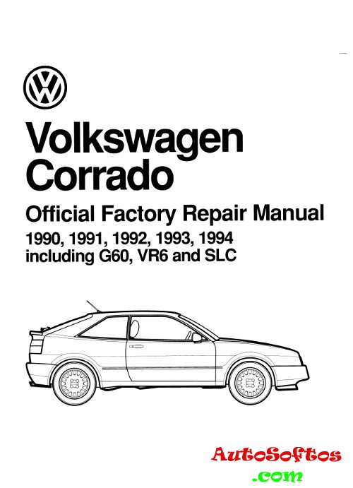 Repair Manual VW Corrado 1990-1994 г. » AutoSoftos.com