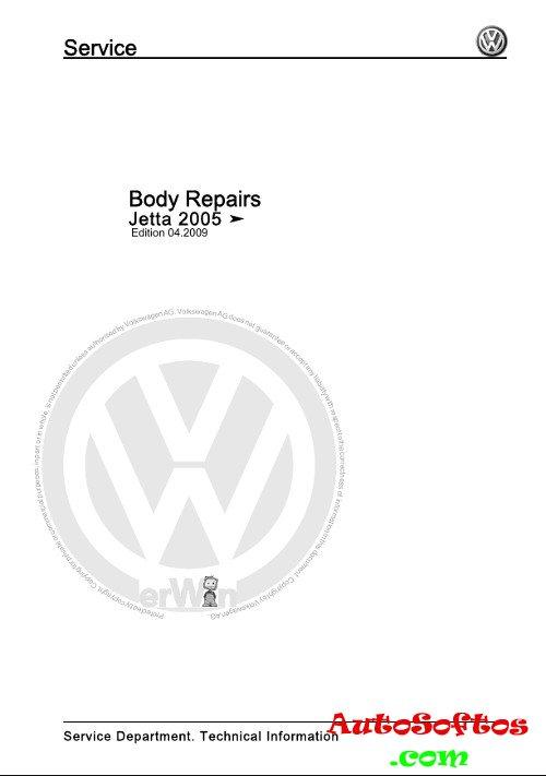 Workshop Manual VW Jetta с 2005 г. » AutoSoftos.com