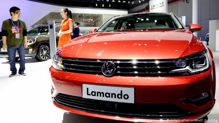 Специально разработанная для китайского рынка модель Volkswagen
