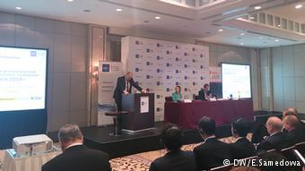 На пресс-конференции АЕБ в Москве