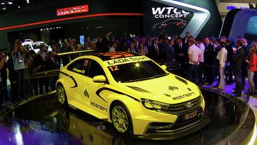 Концепт-кар Lada WTCC на Московском автомобильном салоне. Архивное фото