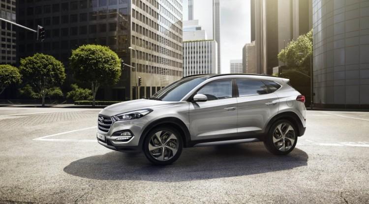 Экстерьер Hyundai Tucson 2016