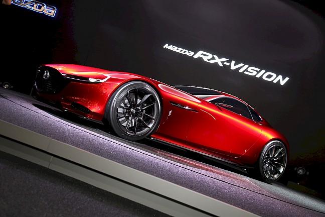 Mazda представила новый концепт модели RX-Vision