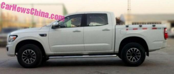 новый пикап Zhonghing Auto