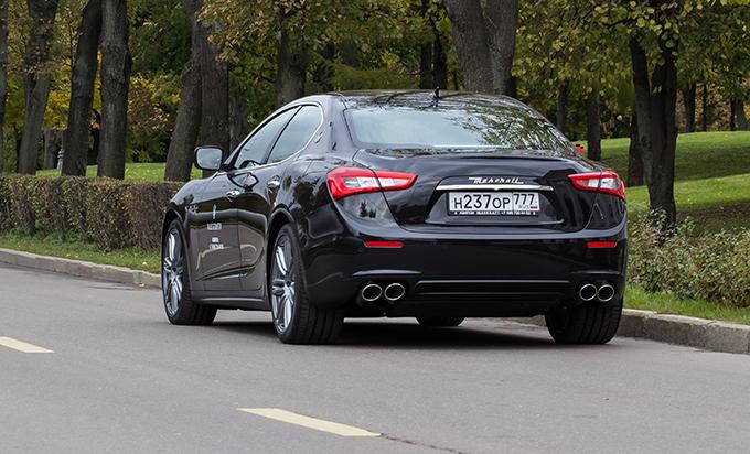 Тест-драйв Maserati Ghibli Diesel