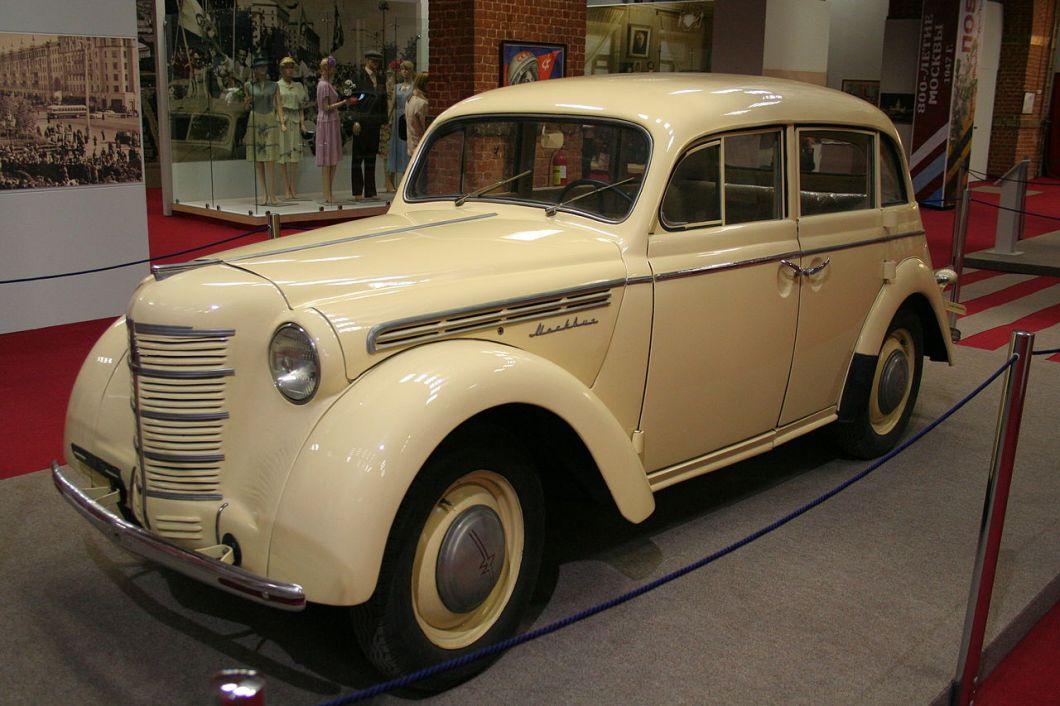 Москвич 400 - автомобиль, прототип «Опель Кадетт»