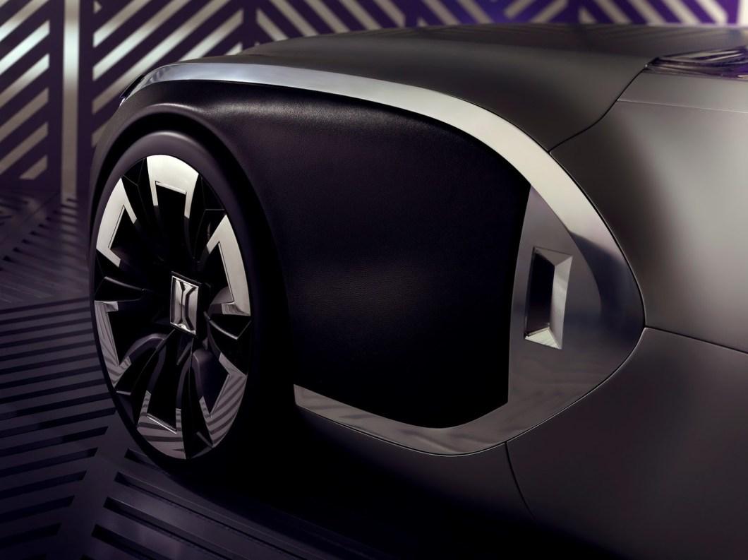 Концепт авто Renault Corbusier в честь великого архитектора