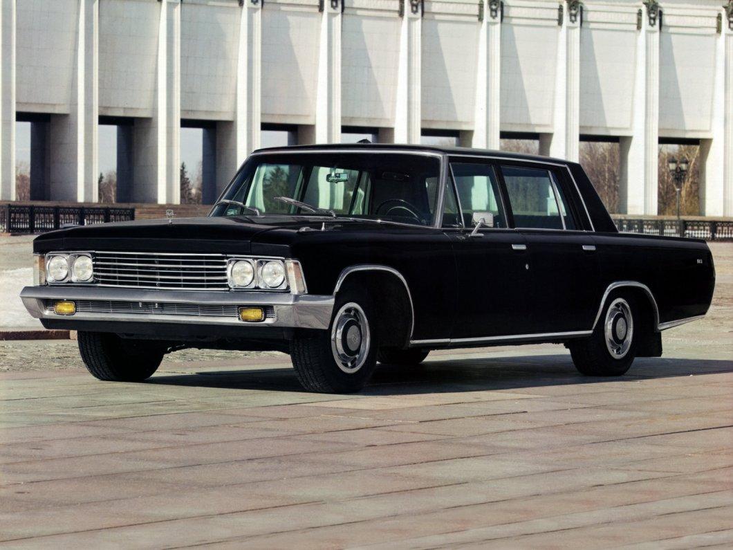 ЗИЛ 117 - автомобиль сделанный для Брежнева