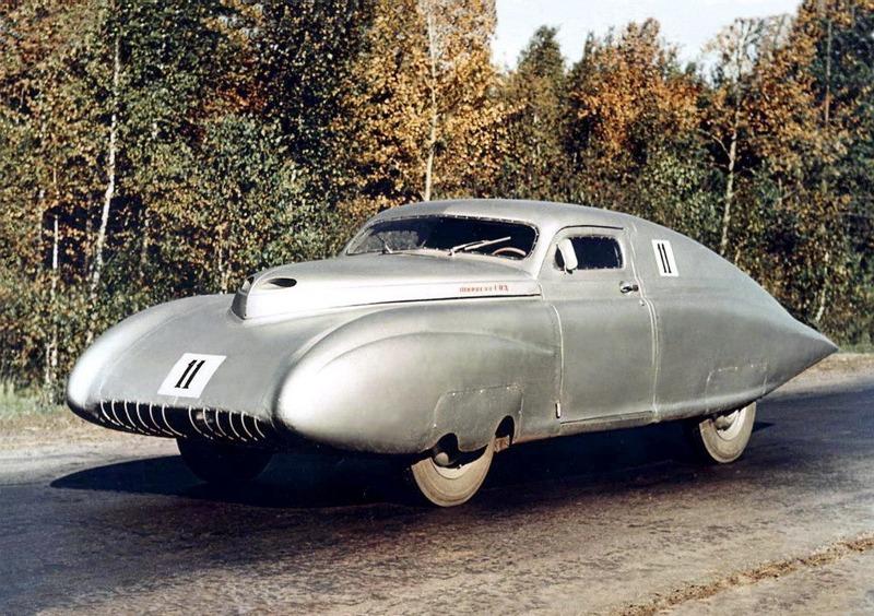 ГАЗ-СГ - спортивный автомобиль, который базировался на Победе