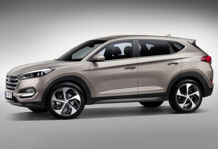 Фотоснимок нового Hyundai Tucson 2015-2016