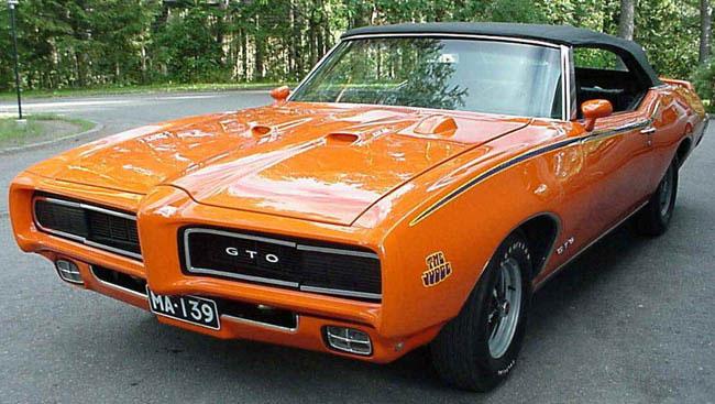 Pontiac GTO JUDGE с которого все начиналось