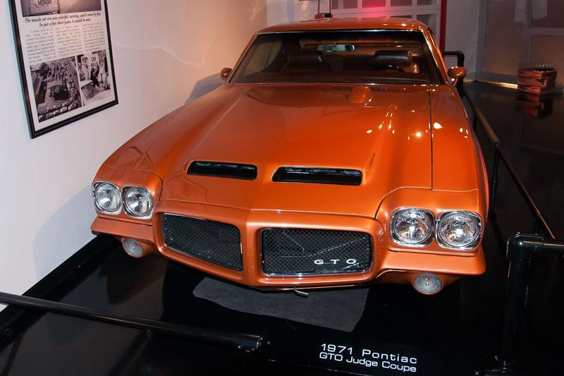 Pontiac GTO JUDGE 1971 года выпуска