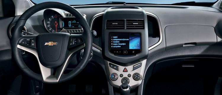 Салон Chevrolet Aveo