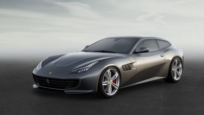 Ferrari GTS4Lusso пробует достичь RADICALной управляемости