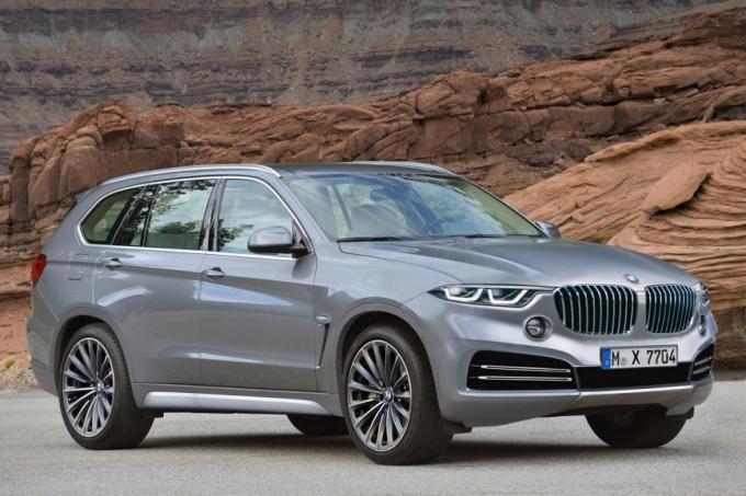 BMW X7: монокок на четверых…
