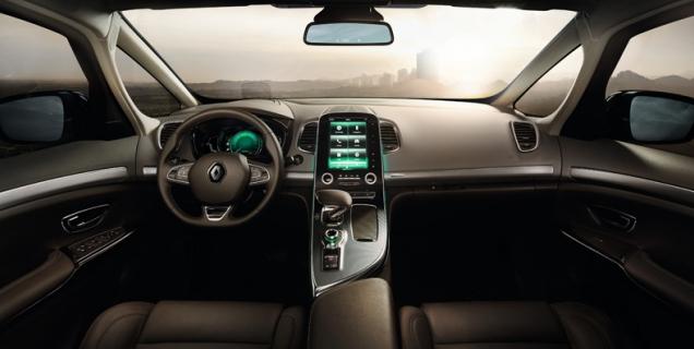 Салон Renault Espace2016 модельного года